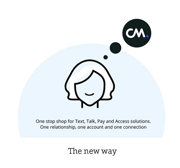cm cpaas text chat apps voice authentication solutions for business
