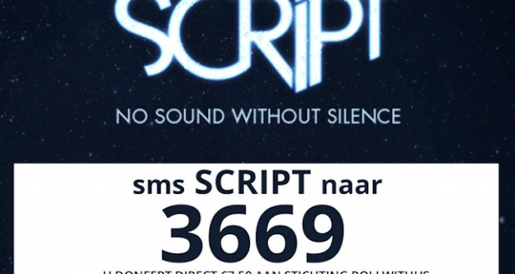 SMS-actie voor goede doel en kaartjes The Script met 3669
