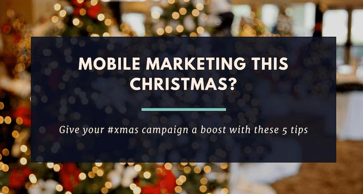 marketing this Christmas