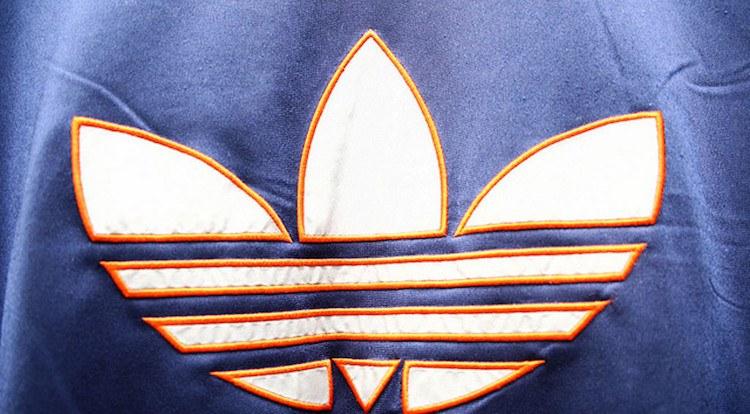 adidas logo shirt