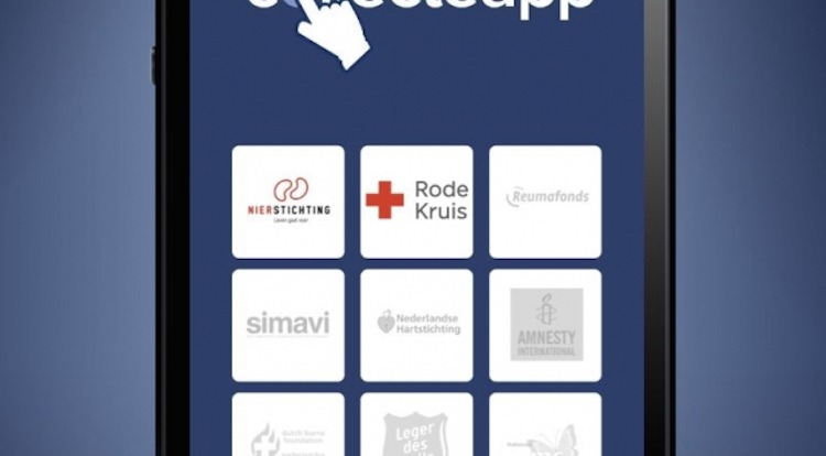 Rode Kruis test donaties met nieuwe collecte-app