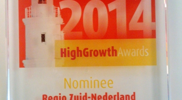 Nominatie CM voor High Growth Award 2014
