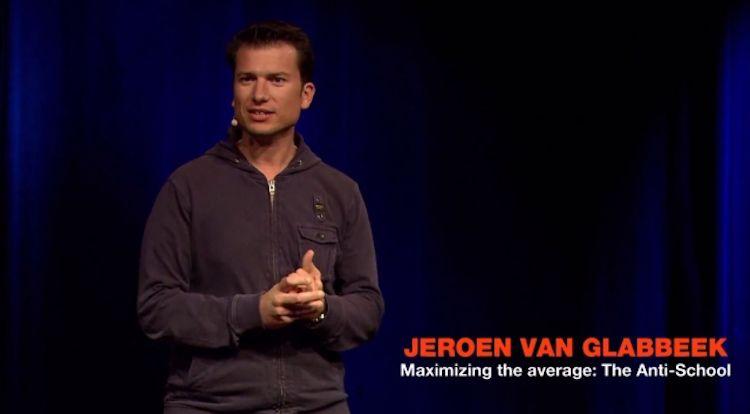 The anti-school: Jeroen van Glabbeek speaker at TedxBreda