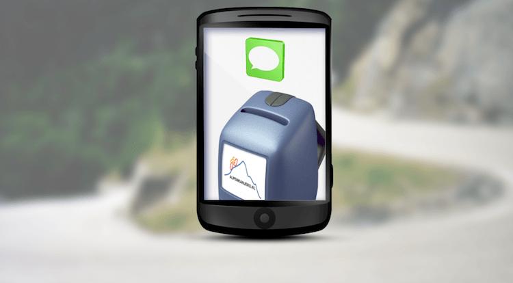 SMS donatie tijdens Alpe d'HuZes