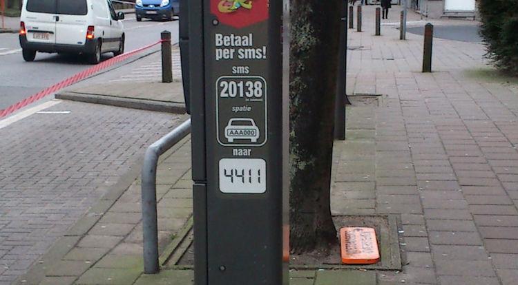 sms parkeren