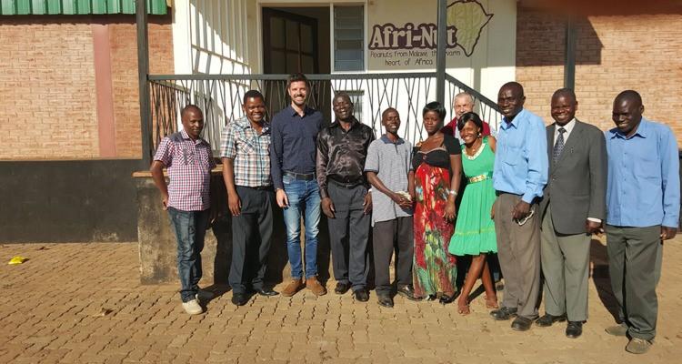 Malawi peanut farmers