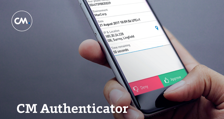 Authenticator mobiele telefoon