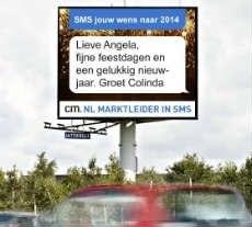 grootste nieuwjaarskaart nederland