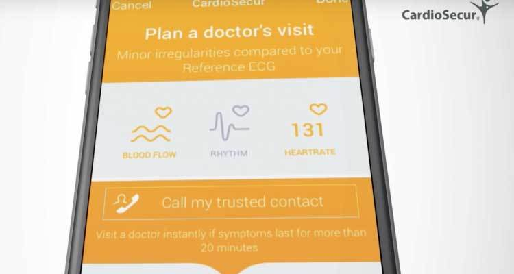 CardioSecure app mhealth