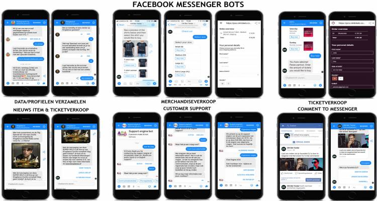 Kingdance Facebook Messenger Bot