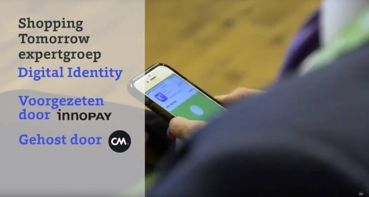 Presentatie Digital Identity expertroep op shopping today