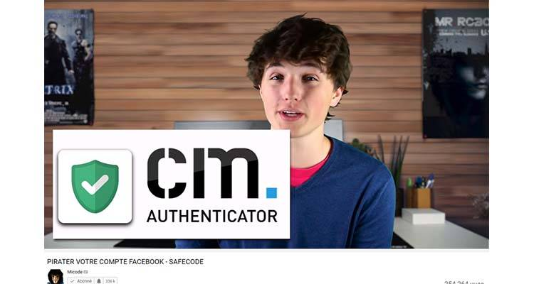 Micode Youtuber CM Authenticator