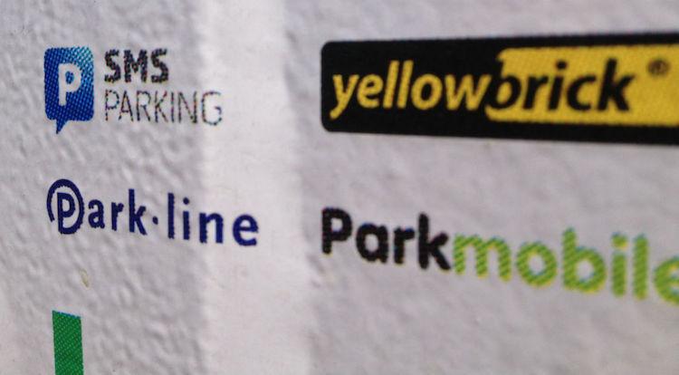 sms parkeren data