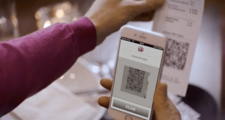QR-code iDEAL-app