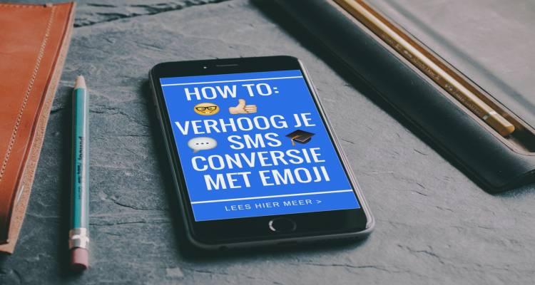 emojie emoticons sms berichten conversie