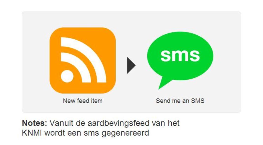 SMS-alert bij aardbevingen Nederland
