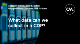 The more personalized the better, why you need a Customer Data Platform
