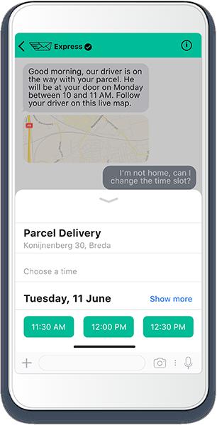 Conversations Apple Business Chat
