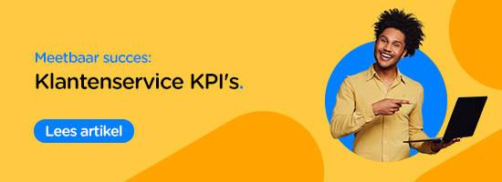 lees artikel: 8 klantenservice kpi's