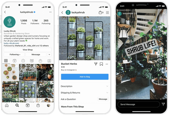 Instagram Messaging Entry Points