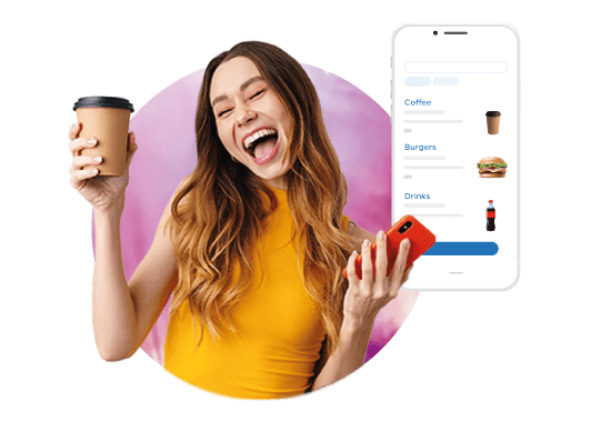 Mobile Order cup