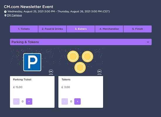 ticketing tokens uk