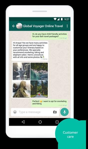 whatsapp-business-travel
