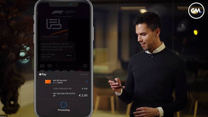 Integrate Apple Pay within Apple Business Chat