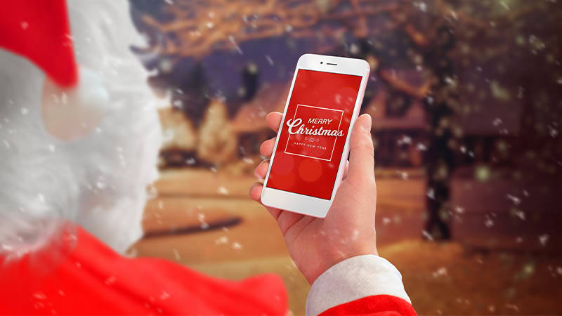 marketing this Christmas mobile
