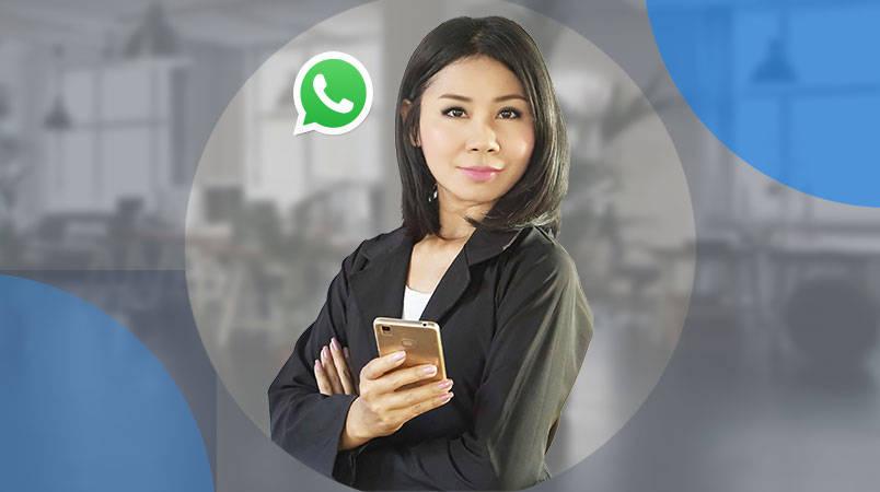 whatsapp business logistics