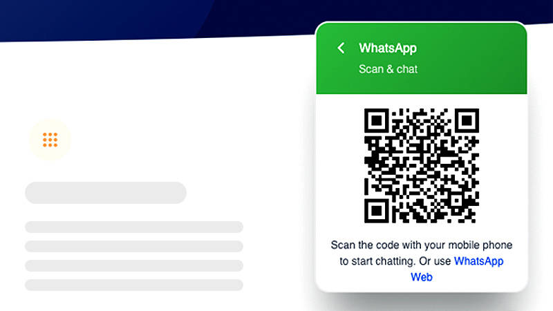 US CM.com WhatsApp for Business QR Code- Scan to Redirect to WhatsApp Chat on Mobile Device