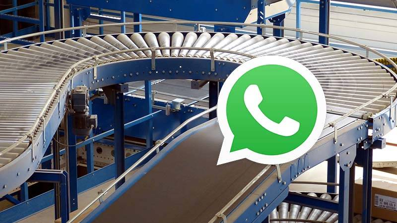 WhatsApp Business solution in logistics sector