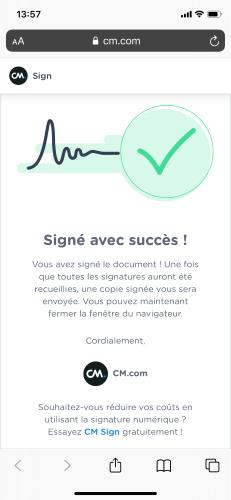 Signer en mobilité