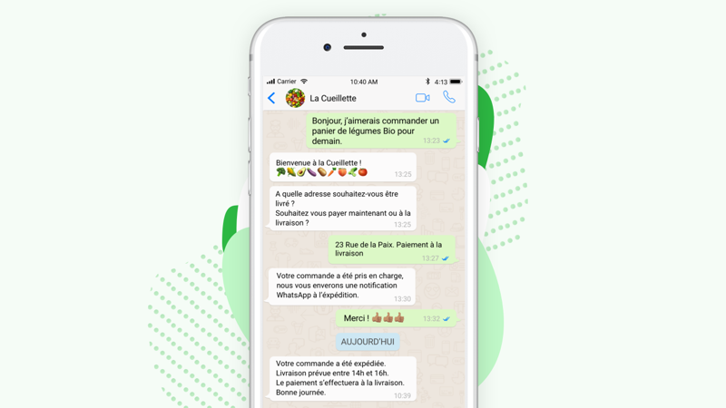 WhatsApp Business Solution: Messages sous Templates