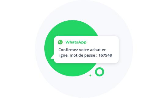 WhatsApp image authentification