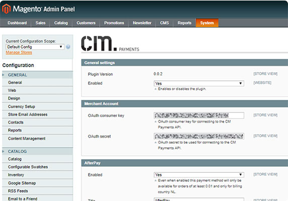 magento payments plugin