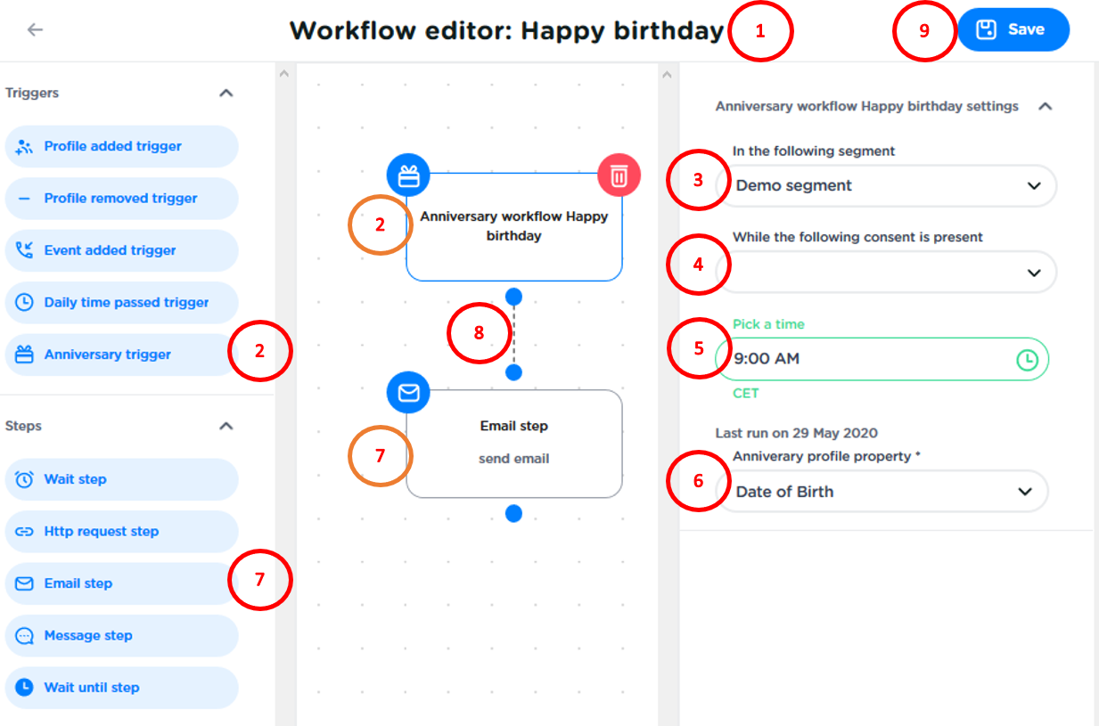 Workflow editor birthday