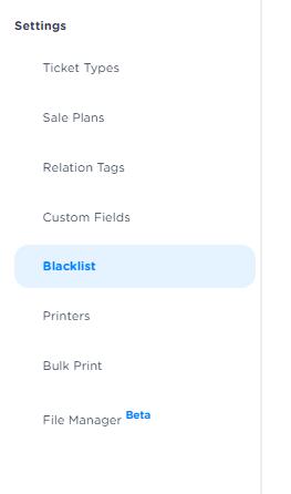 blacklist ENG