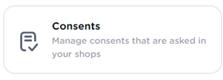 consents
