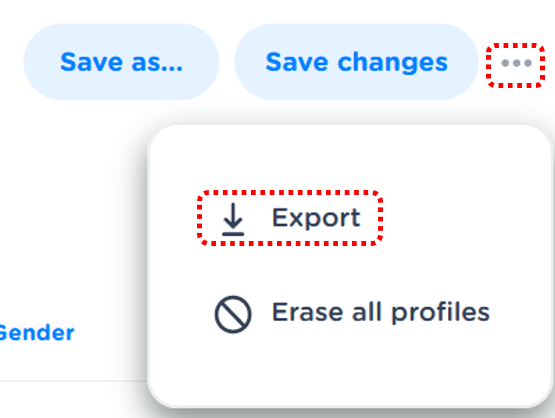 How to export your segments