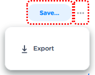 Save the segment