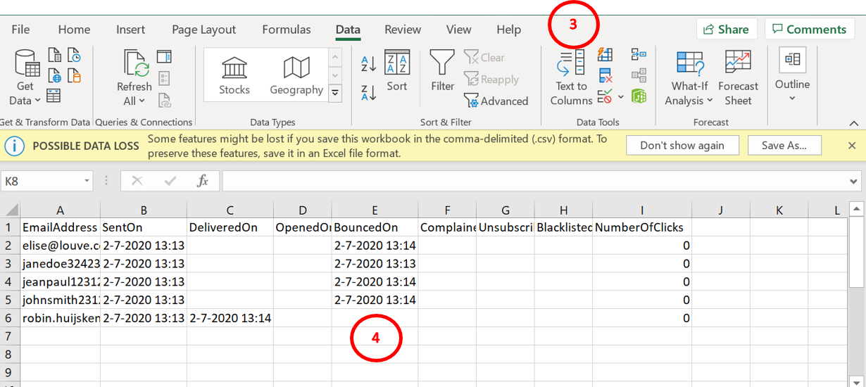Excel how to