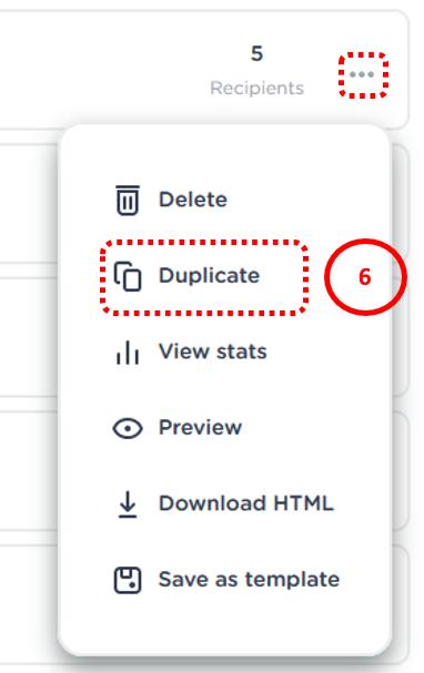 duplicate mail