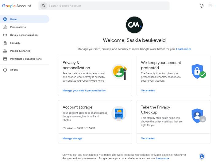 setup gmail account2