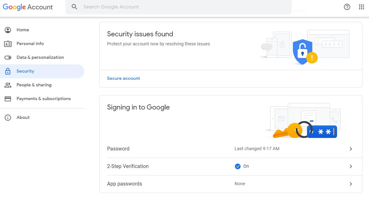 setup gmail account4