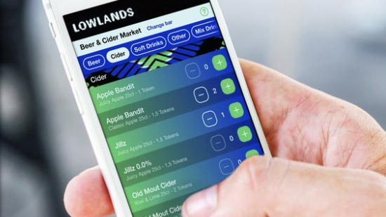 lowlands mobile payment