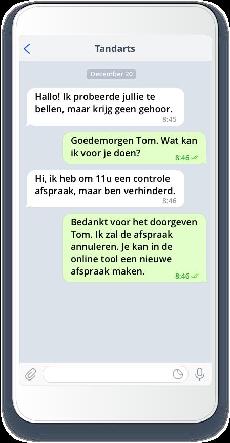 telegram for business chat