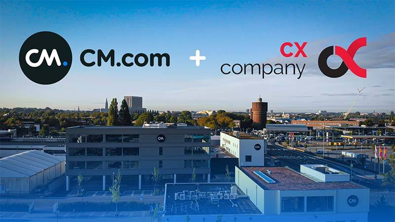 CM.com Acquires CX Company – Conversational AI & Chatbot Technology